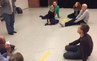 Møde i foreningen af ensomme dramatiklærere
