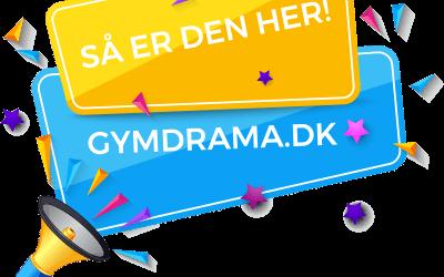 Dramatiklærerforeningens nye hjemmeside er færdig